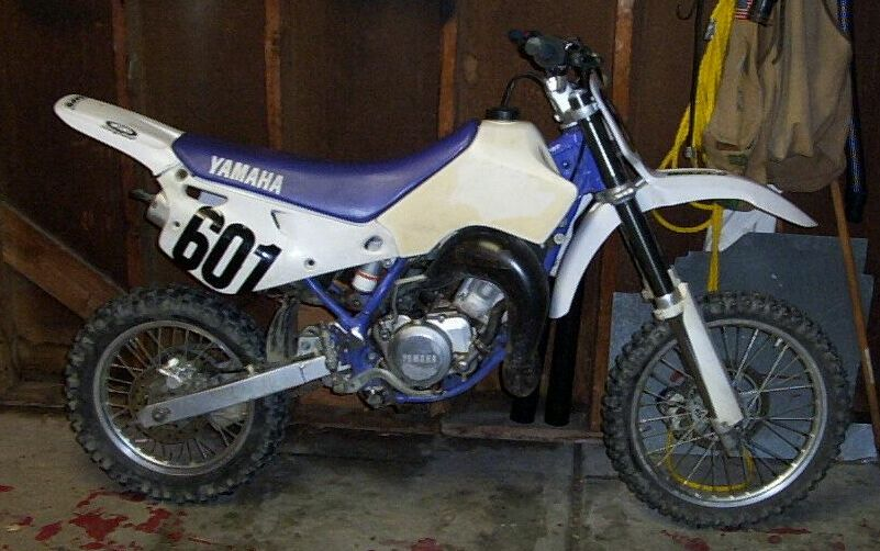 Greg's New (to him) 1996 Yamaha YZ80